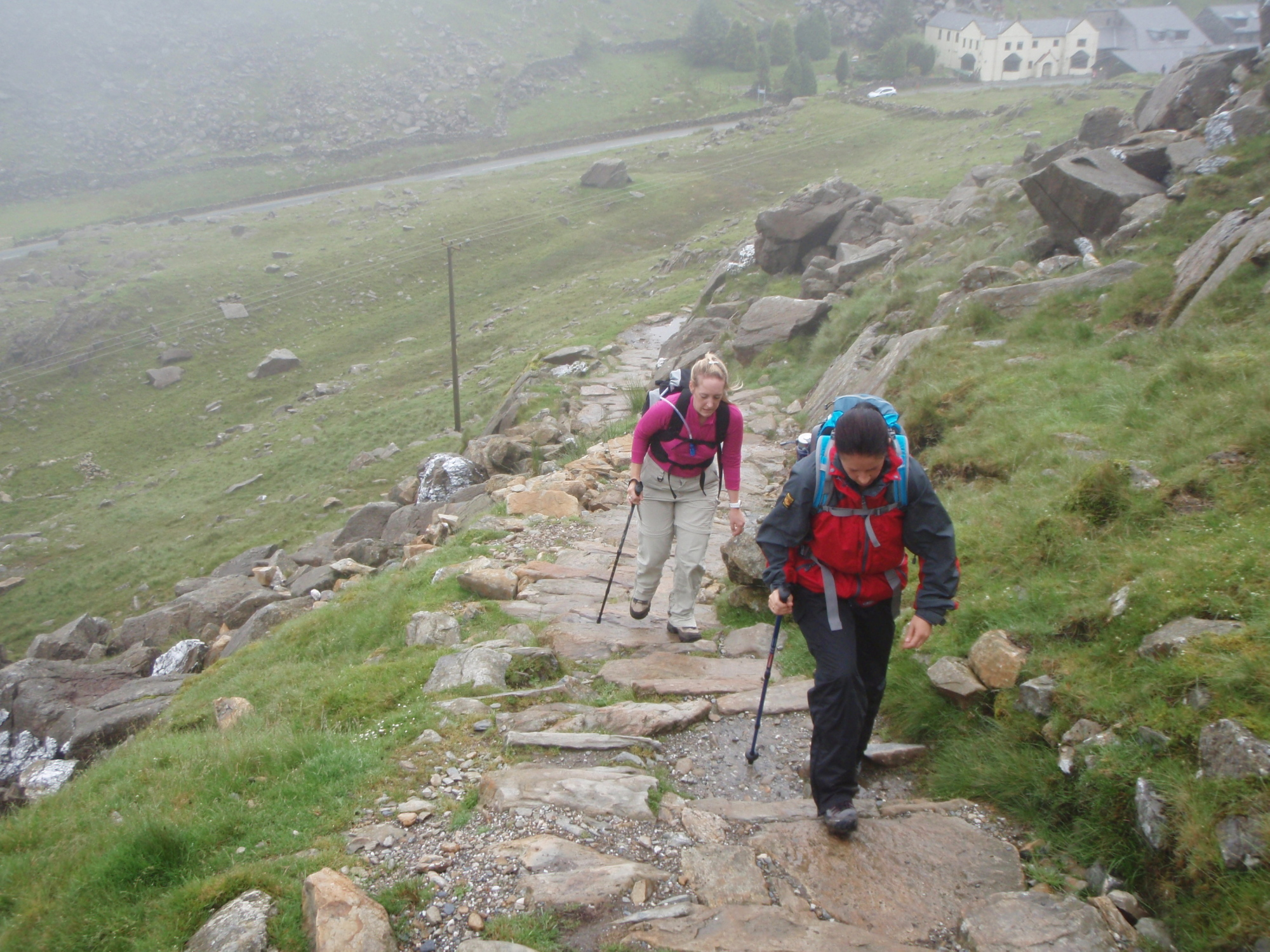 86 Yr Wyddfa Snowdon By The Pyg Track And The Miners