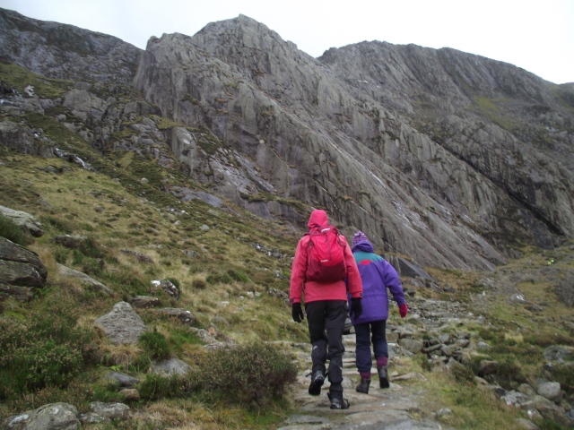 Pressing on towards Idwal Slabs