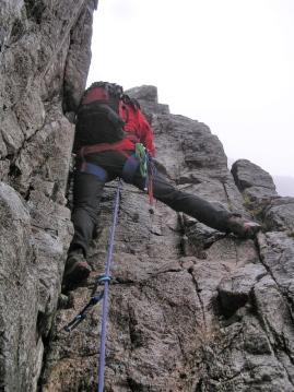 Berghaus 'Powder' rucksack - Curved Ridge, Buachaille Etive Mor, Glencoe  (MB)