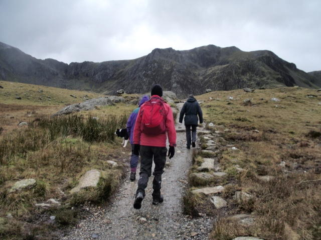 The Berghaus Freeflow 20 in use – Cwm Idwal