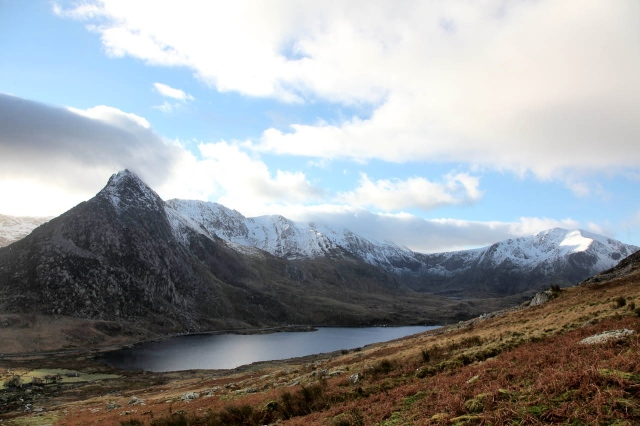 Back to Ogwen for a real mountain day  (JB)
