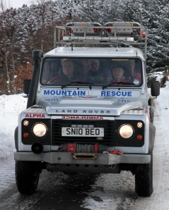 Tweed Valley MR Team Landrover (Spine)
