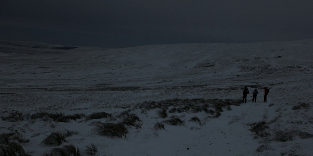 The Pennine Way in winter - a wilderness adventure but not for the faint hearted!  (JB)
