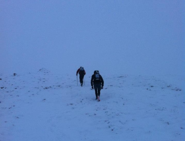 Great Shunner Fell, no sun to be seen! (RL)