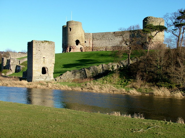 Definitely not in West Yorkshire!  Rhuddlan Castle built by Edward I in the late 13th century – © George Tod