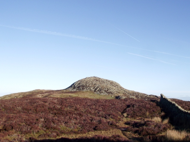 Tal y Fan, seen from Foel Lwyd