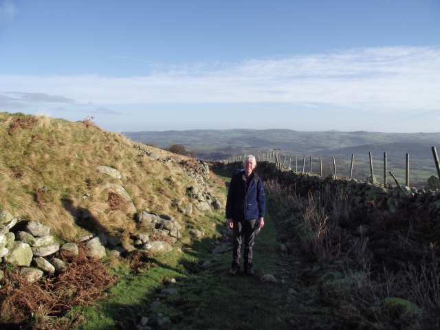On the Roman road from Rowen to Bwlch-y-Ddeufaen (Pass of the Two Stones)