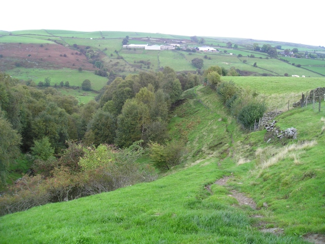 …. leading to high paths above the valleys