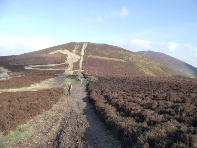 After the lunch break, on to Moel y Gaer