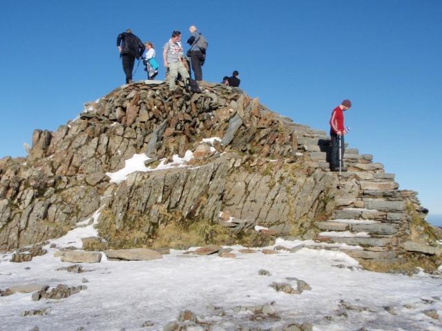 Yr Wyddfa summit