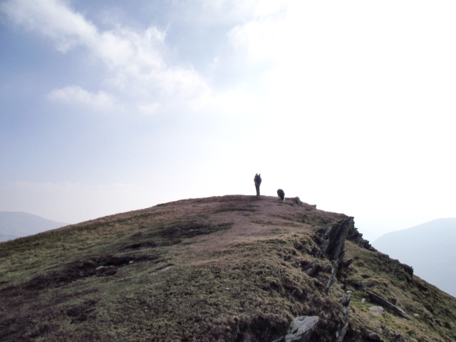 Foel Goch – our last summit before heading down