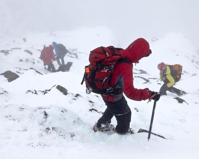 Starting on the descent via Striding Edge