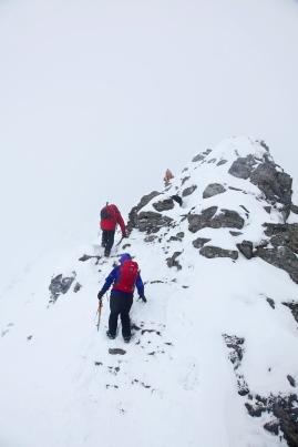 The ridge continues