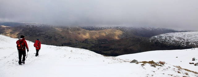Coming down Birkhouse Moor