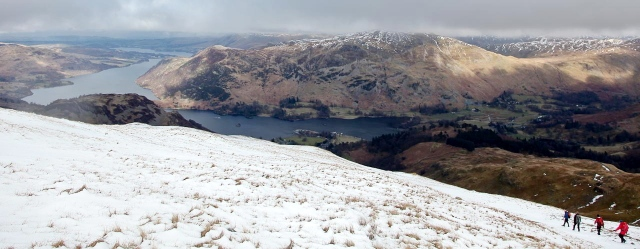Heading down to Glenridding on the shore of Ullswater