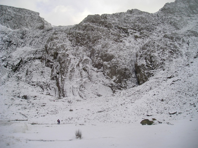 Idwal Slabs in winter