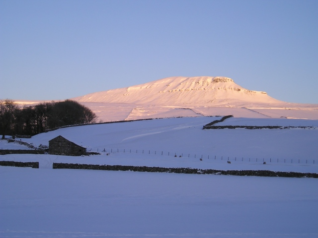 Pen y Ghent sunset