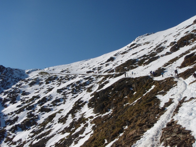The PYG Track, above the zig-zags