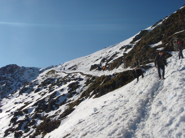 The last section of the PYG Track