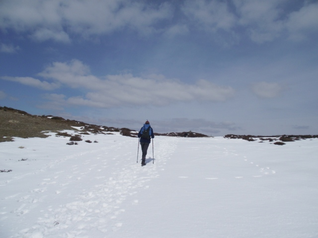 Getting nearer to the summit ….