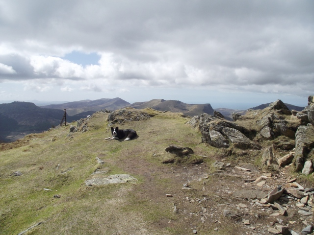 The summit of Yr Aran, a superb viewpoint