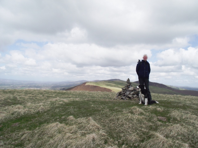 Chris and Mist on the summit