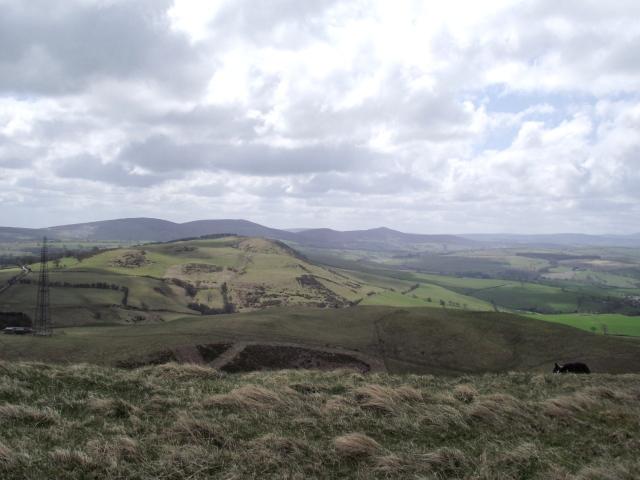 The view south towards Llantysilio Mountain (see post  #122)