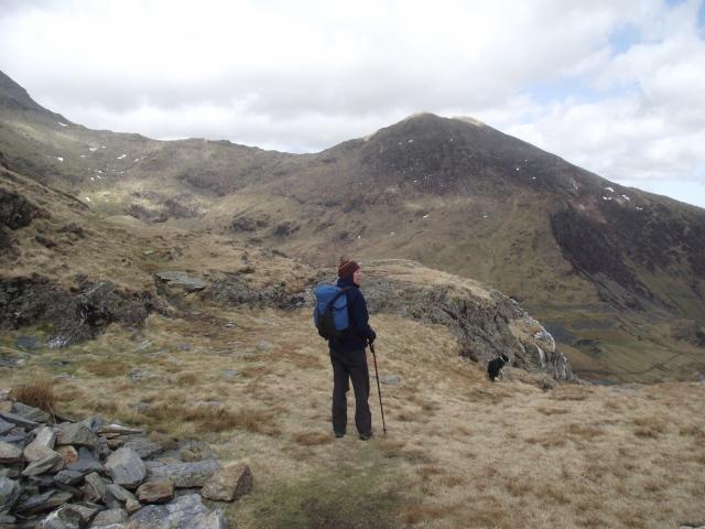 Heading back towards the Watkin Path