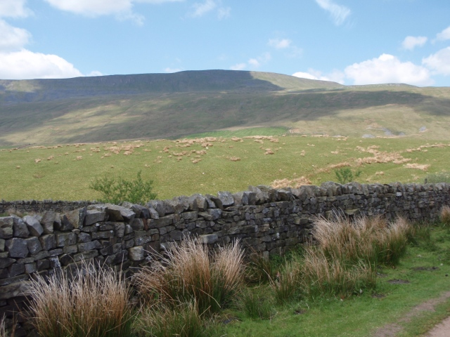 …. but with the next peak of Whernside to come first