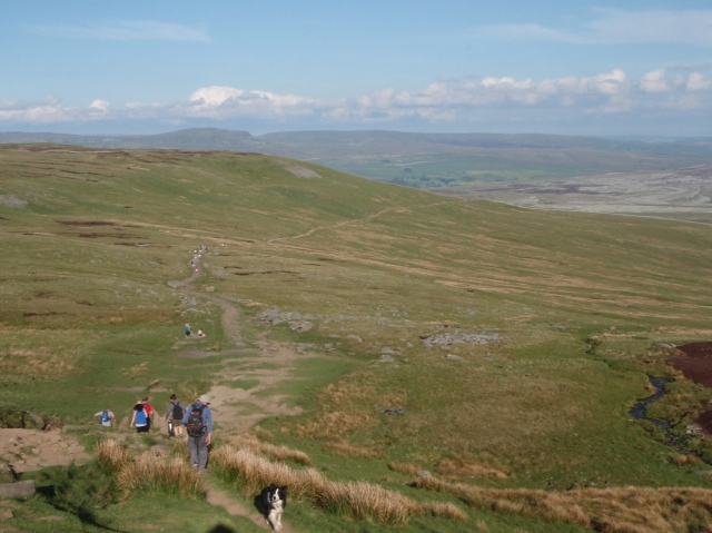 …. Before the long final descent to Horton in Ribblesdale