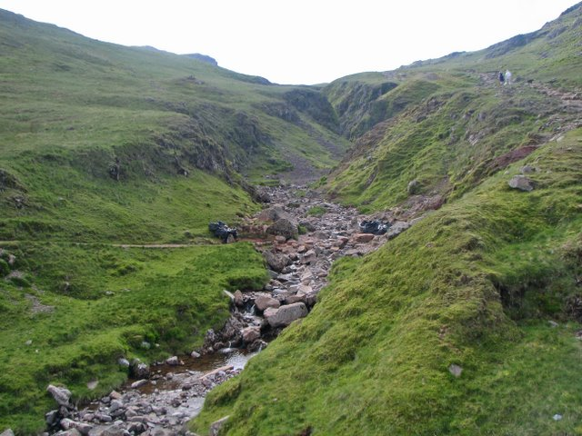The upper part of Grains Gill, where it becomes Ruddy Gill  © KA