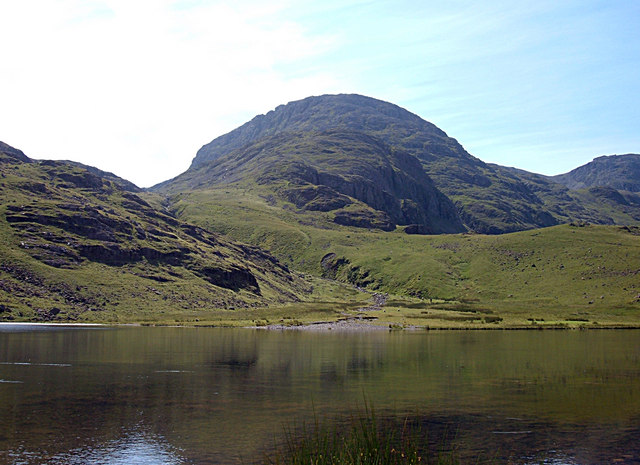 Great End from Styhead Tarn  © Michael Ely