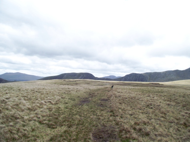 The plateau of Gledrffordd