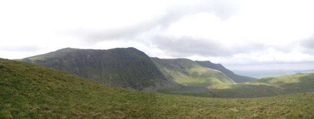 The Aran Ridge, seen from the southeast