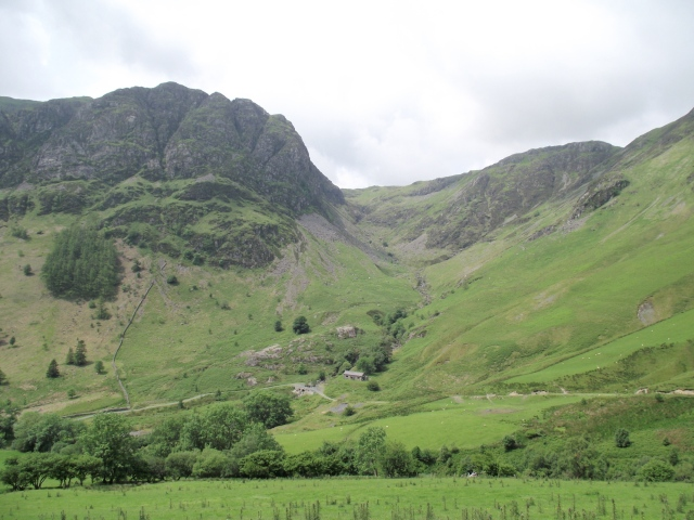 Cwm Cywarch in the Aran Hills