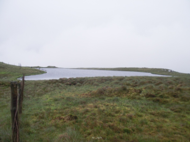Llyn y Fign, just below the summit of Glasgwm