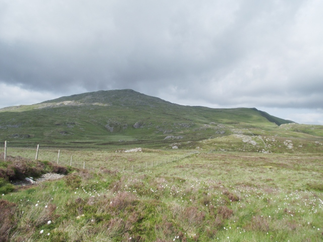 Looking back towards Aran Fawddwy