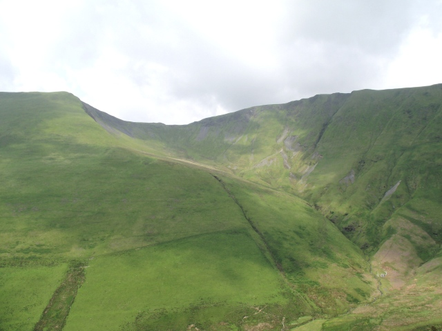 The upper part of the valley