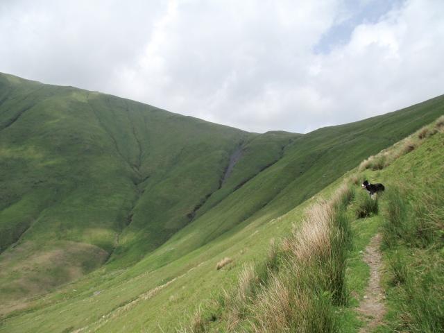 Heading towards the plateau ….