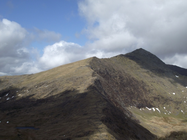 The South Ridge of Yr Wyddfa (Snowdon)