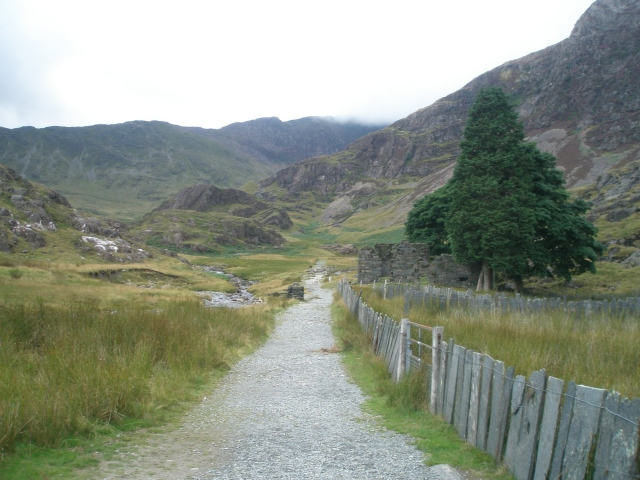 The lower section of the Watkin Path (PS)