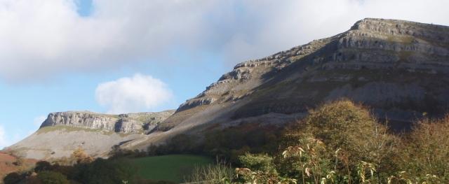 Limestone escarpment near World's End