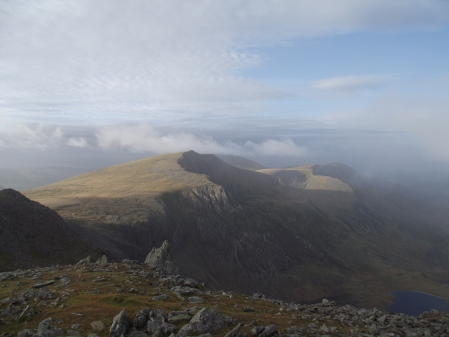 …. and more visible as the mist clears
