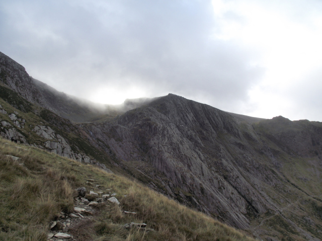 Seniors Ridge in the Glyderau