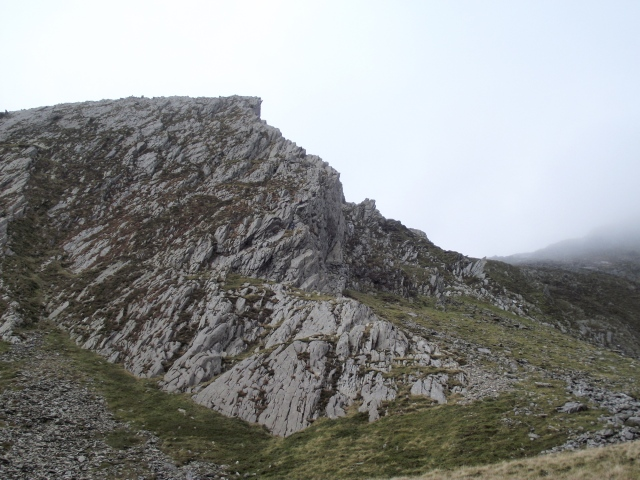 An early view of 'Cneifion Arête'