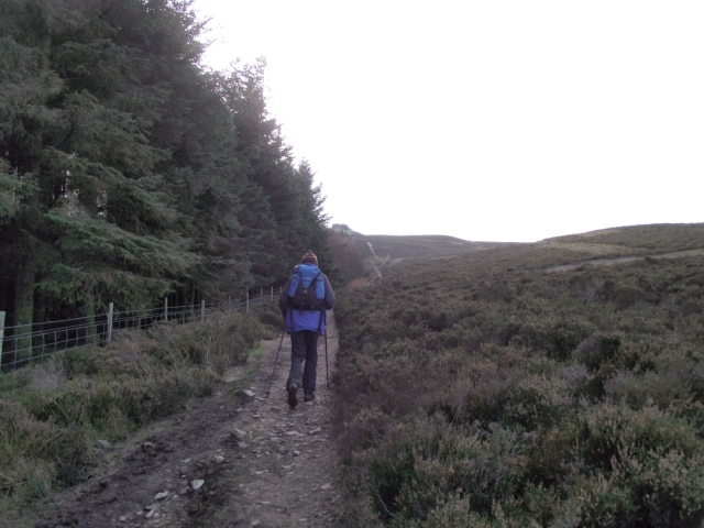 Nearly at the summit
