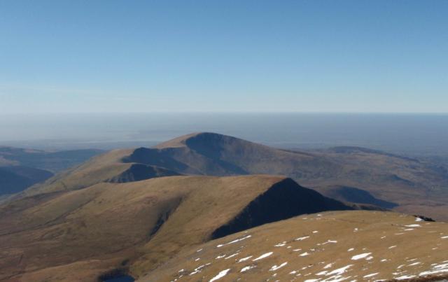 Moel Eilio, to the north of Yr Wyddfa