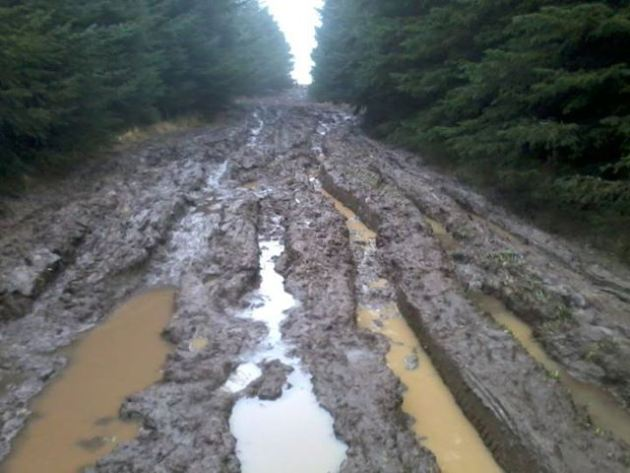 The Mud Road!