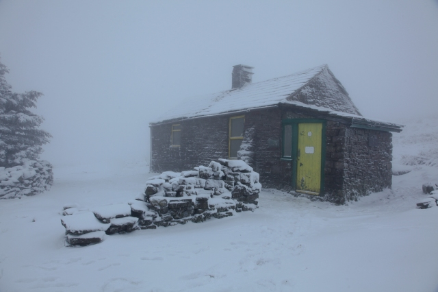 Greg's Hut at 700 metres altitude