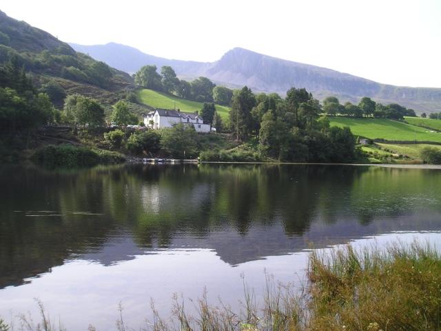 Cadair Idris from Llyn Gwernan